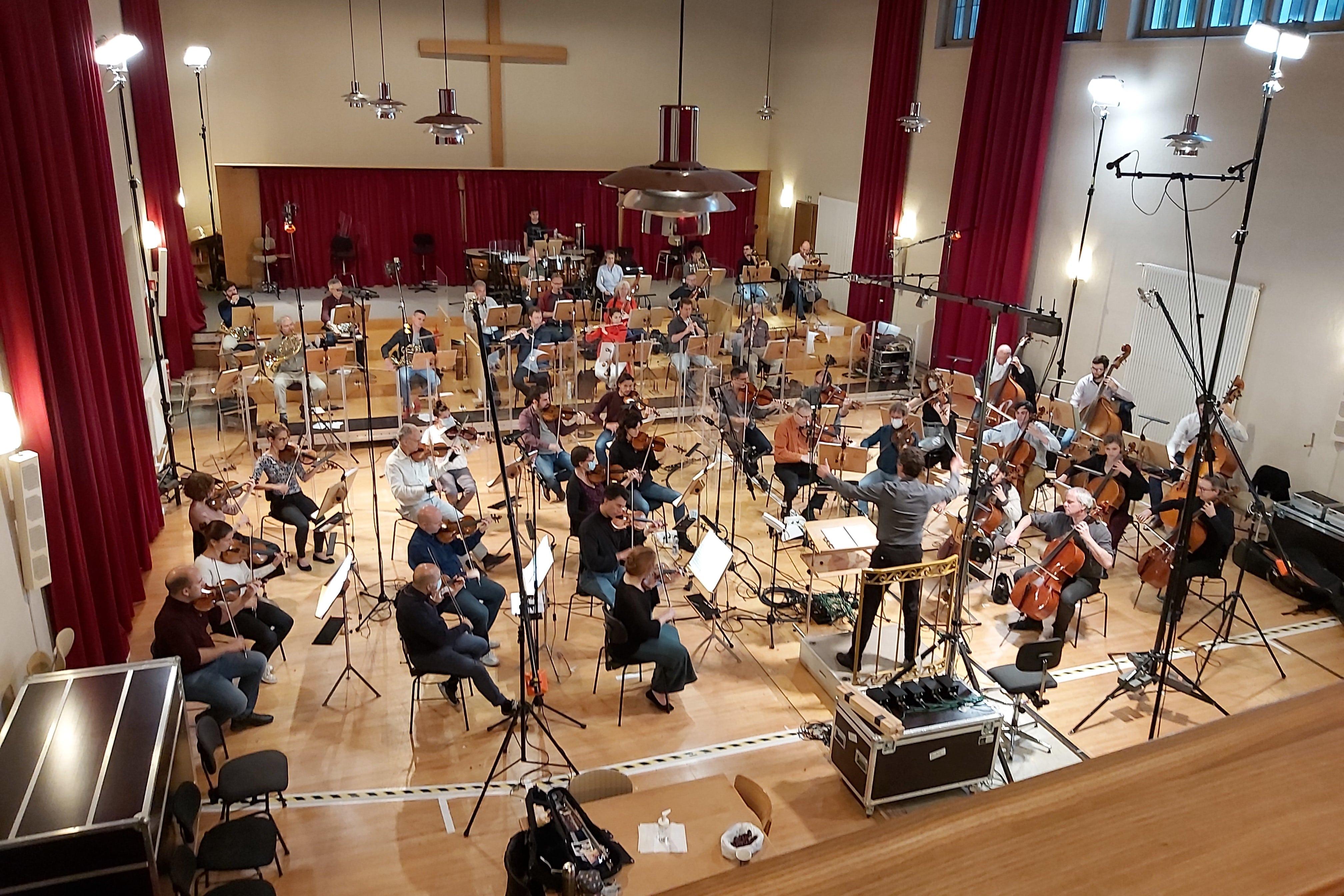 Sinfonie Orchester Biel Solothurn mit Kaspar Zehnder, Juni 2020