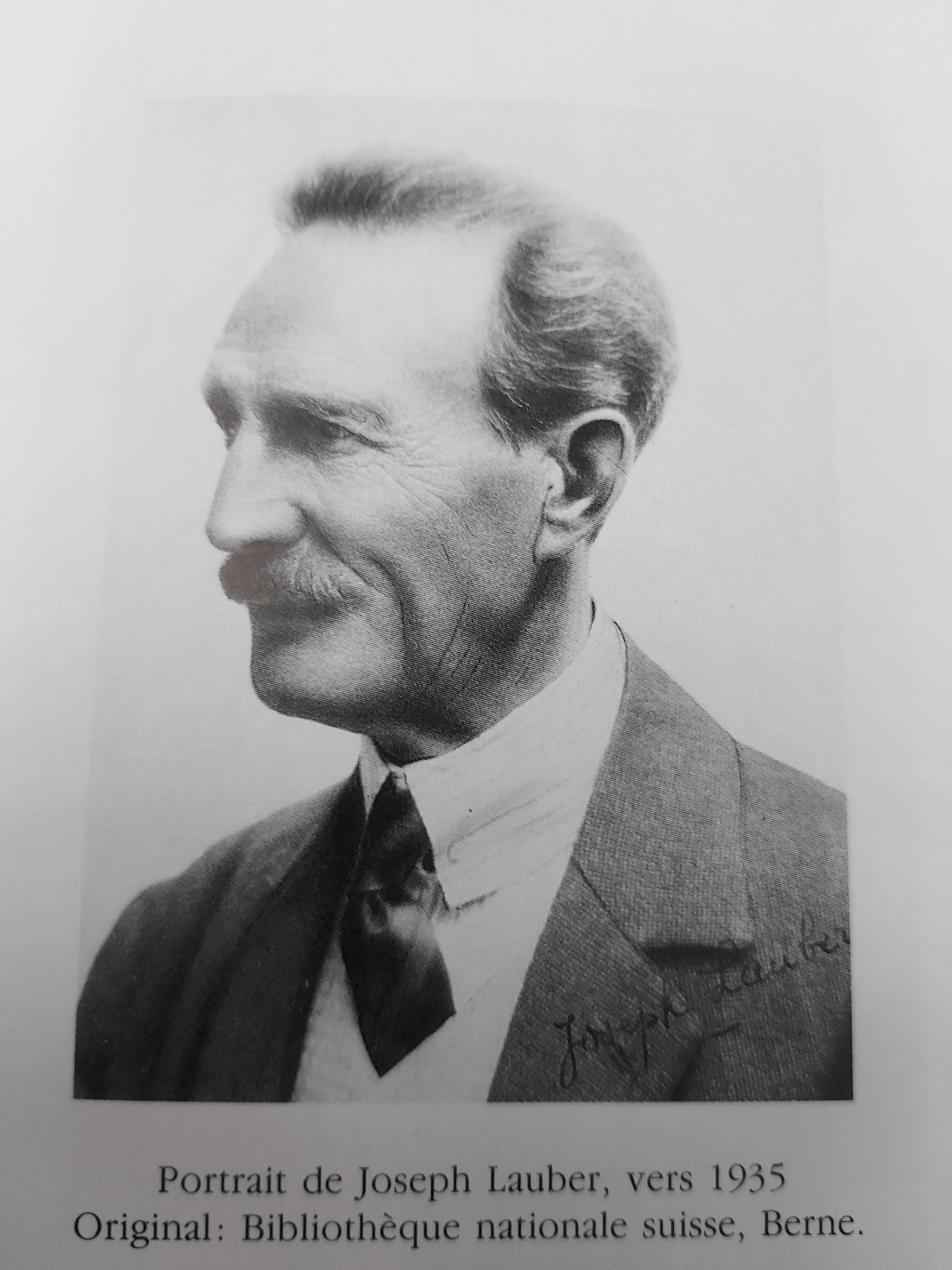 Joseph Lauber in späteren Jahren