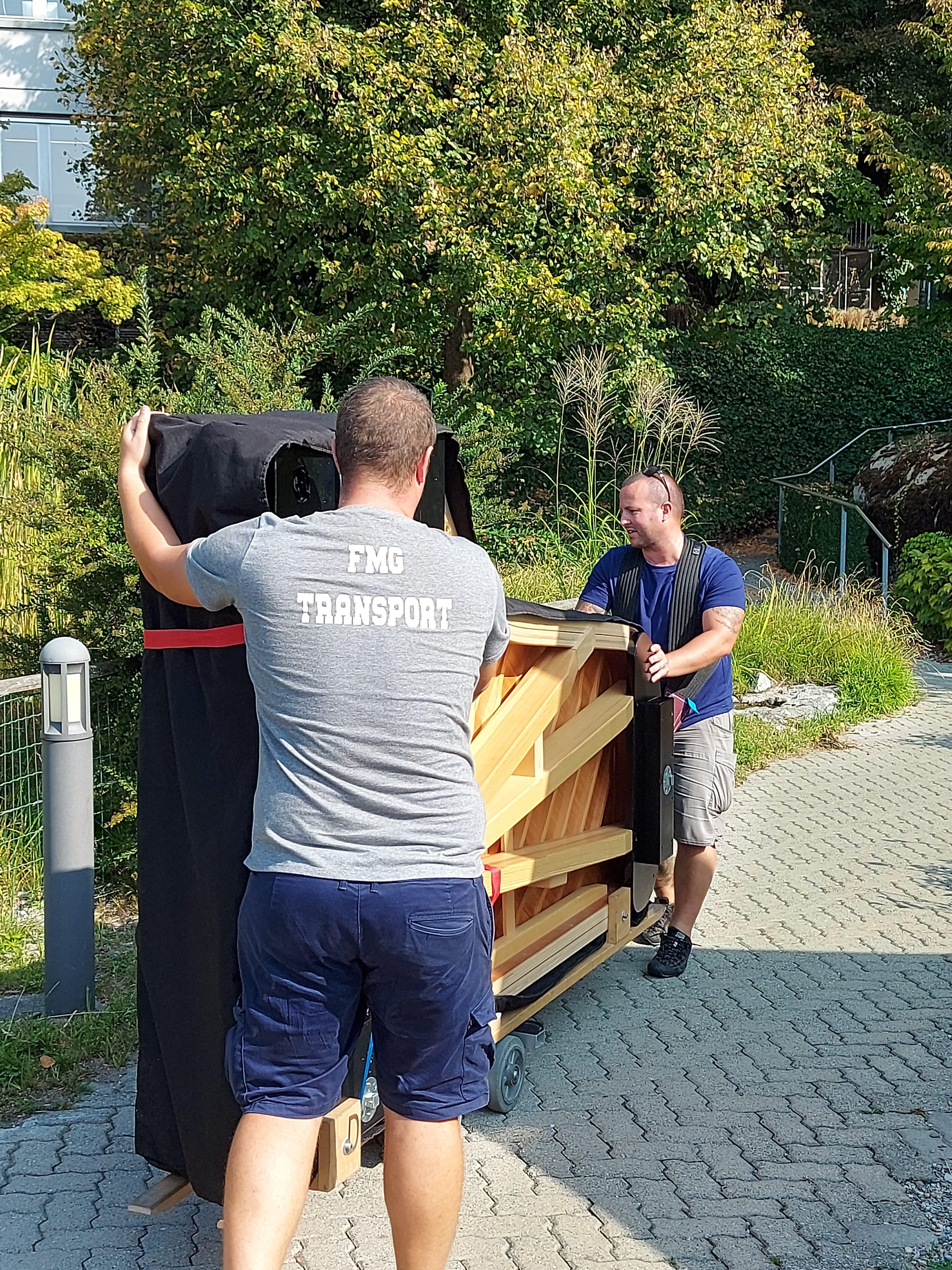 transport du piano Steinway