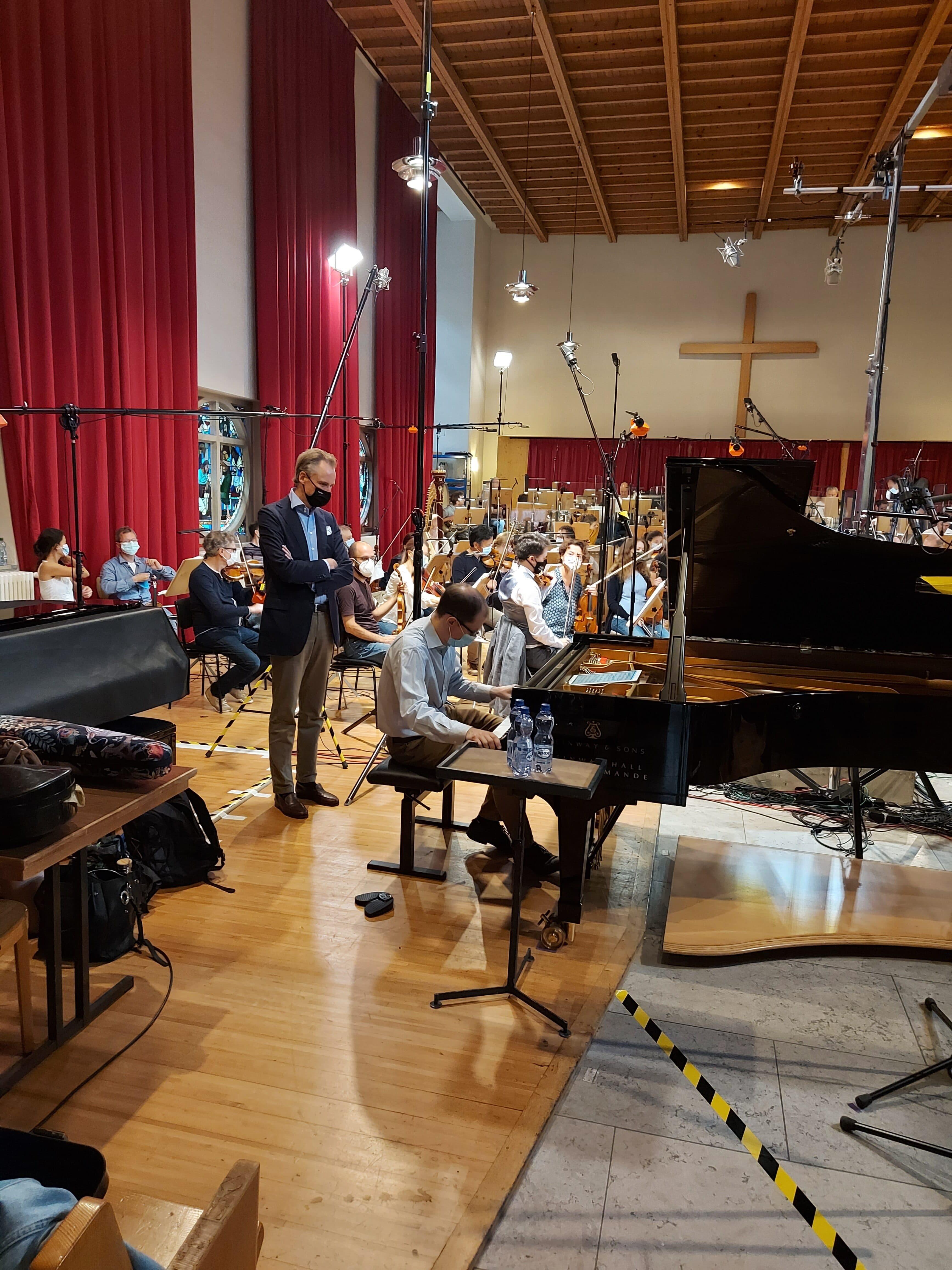 Kurt Leimer junior présent à l'enregistrement