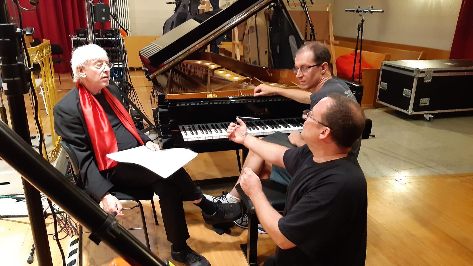 Mario Venzago, Gilles Vonsattel, Frédéric Angleraux/ADCsound